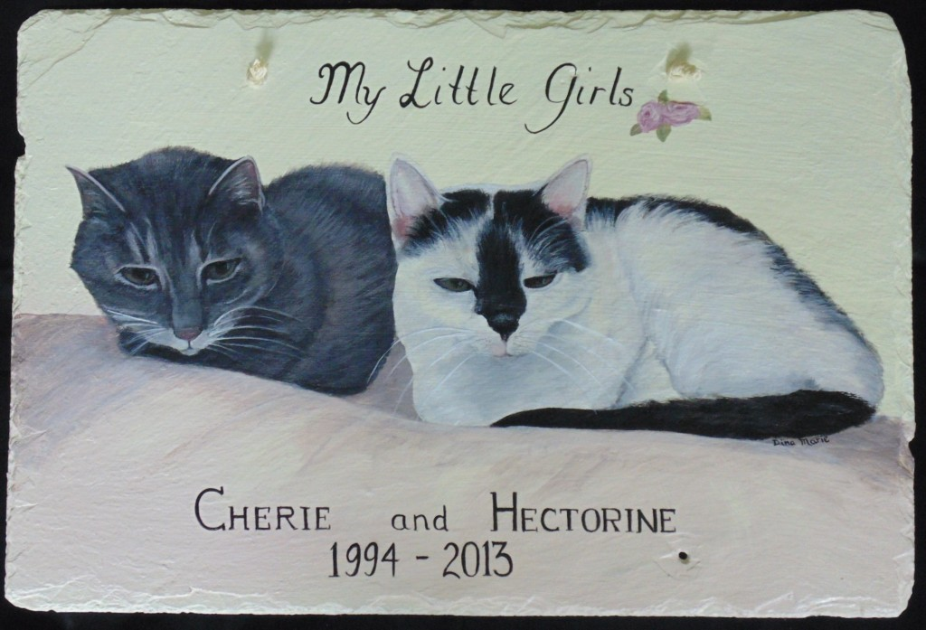 cat portrait memorial